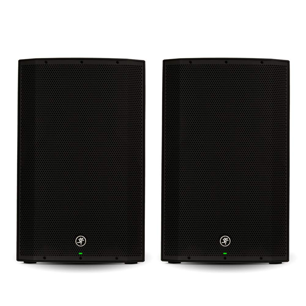 Mackie THUMP15 Powered 15'' Loudspeaker Pair 2000 Watt Bi-Amped Active Speakers THUMP15-Pr