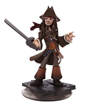 [Disney Interactive Studios] Disney Interactive Studios 1 X DISNEY INFINITY capitaen Jack Sparrow Figura