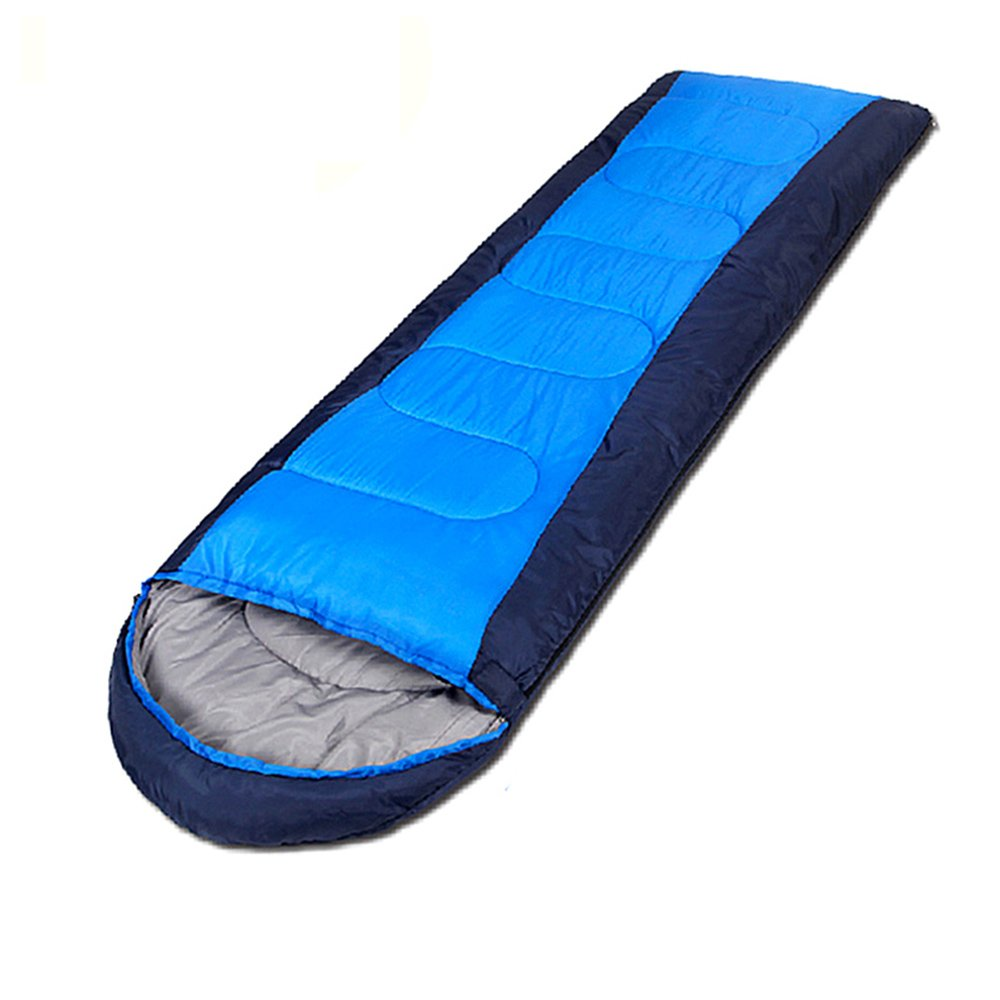 QFFL shuidai Schlafsack-Herbst-und Winter-im Freien kampierender Spielraum-Warmer Schlafsack-einzelner tragbarer Schlaf-Innenschlafsack kann gespleißter doppelter Schlafsack Sein
