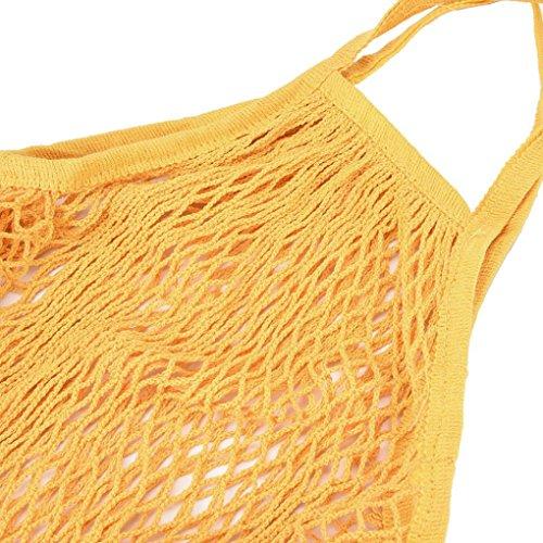 ESAILQ shopping r Net Mesh sac xwqgHFCS