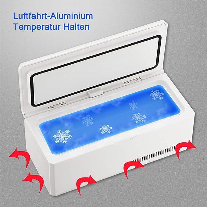 Mini refrigerador Refrigerador de medicamentos y refrigerador de ...