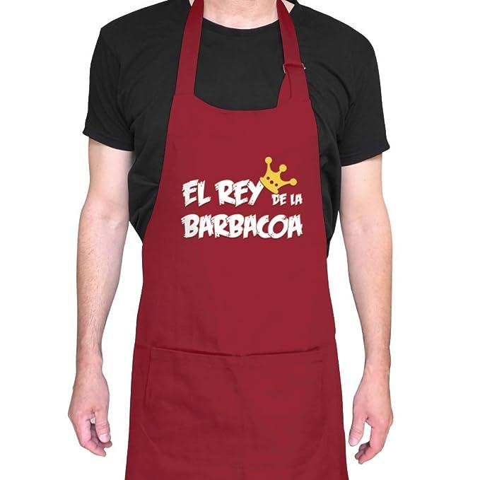 Delantales originales. Delantal El rey de las barbacoas para hombre y mujer. Delantal de cocina unisex.: Amazon.es: Ropa y accesorios