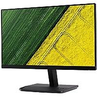 Acer 22 inch (55.88 cm) Monitor - IPS Full HD, VGA, HDMI Port, Zero Frame Design - ET221Q (Black)