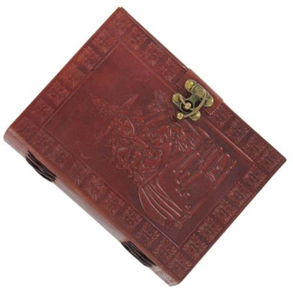 Artisan Bewitched Leather Spellbook Diary