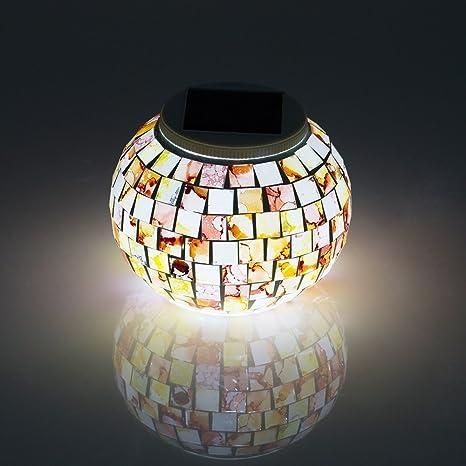 Solar Patio Lights Changing Colors Led Decorative Table Night Light Lamp Lights & Lighting