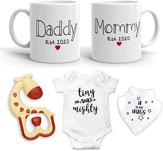 Mummy Will You Marry Daddy Baby Feeding Bib Gift One Size