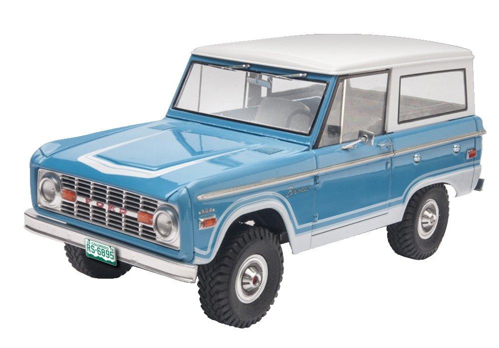 Toy Model Gallery : Revell ford bronco plastic model kit ebay