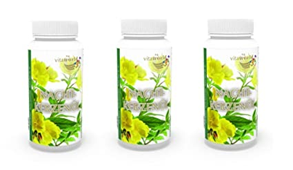 Pack de 3 Aceite de Onagra 500mg + Vitamina E - 3 x 90 Cápsulas -