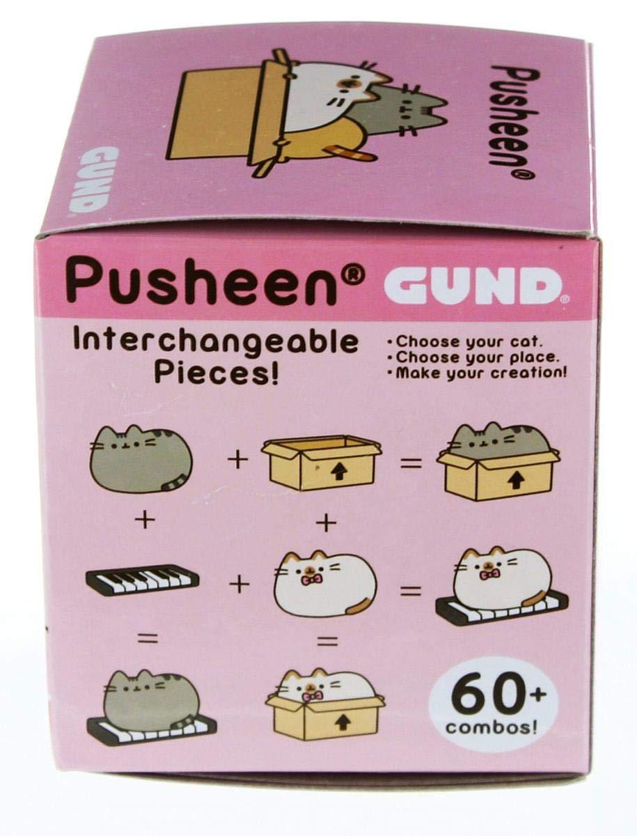 Gund Pusheen Blind Box Series #3 Surprise Plush 3-Pack Bundle
