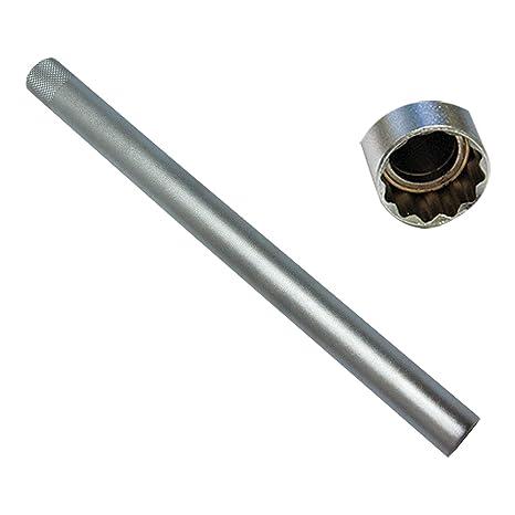 Neilsen – Llave de bujía 16 mm magnético Extra Larga 250 mm Cuadrado de Entrenamiento 3