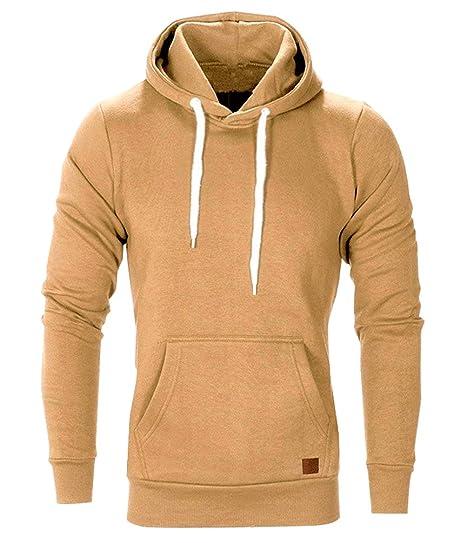 Hoodie Herren Langarm Pullover Kapuzensweatshirt Sweatshirt