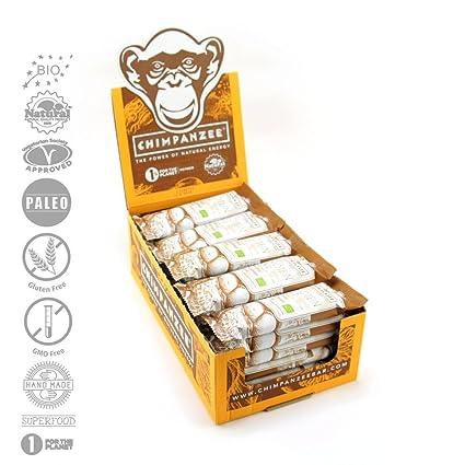 Proteína Chimpanzee rawkost cerrojo Peanut Butter 25 unidades – Bio Raw Paleo vegetariano Risch sin gluten