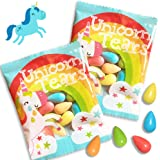 Unicorn Tears - Sour Candy - 36 Unicorn Party Favors - Rainbow Candy Party Supplies Individually Wrapped Treats