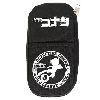 Detective Conan Anime Cosplay estuche de lona bolsa de palos de ...