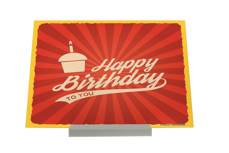 Soporte impresión del arte Fotografias Saludos Tarjeta Protección Feliz cumpleaños: Amazon.es: Hogar