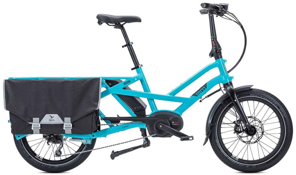 Tern GSD S10 Lastenrad E-Bike mit einer maximalen Zuladung von 180 Kilogramm