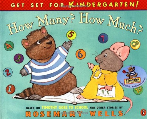 Download How Many? How Much?: Timothy Goes To School Learning Book #2 (Get Set for Kindergarten!) pdf