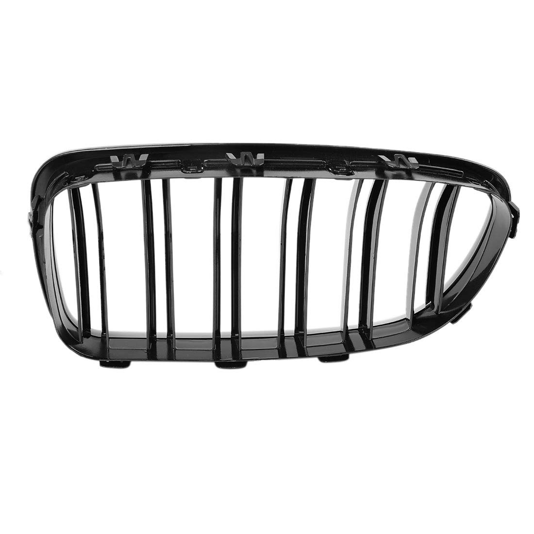uxcell Gloss Black Front Hood Kidney Grille Grill For BMW F10 F18 5 Series 2010-2013