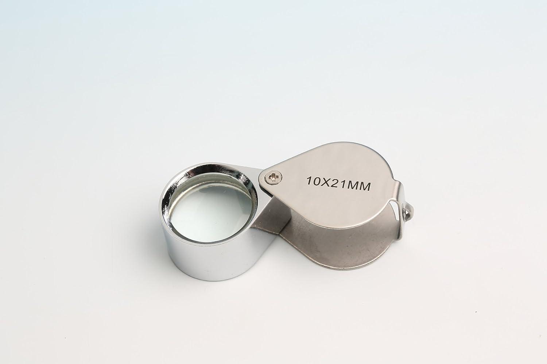 20x 12mm Juwelier Lupe Vergrößerungsglas Uhrmacher Taschenlupe 10x 18mm