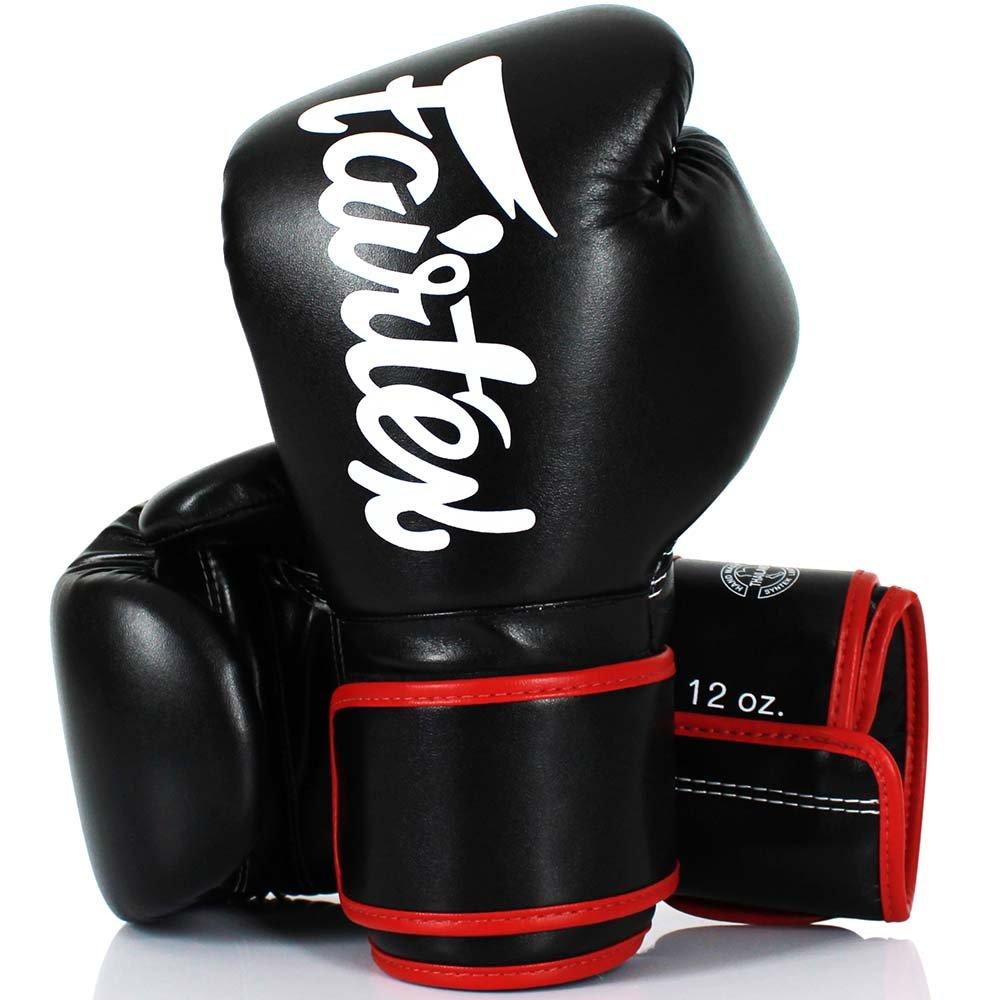 Micro Fiber schwarz Boxing Gloves MMA Muay Thai BGV-14 Fairtex Boxhandschuhe