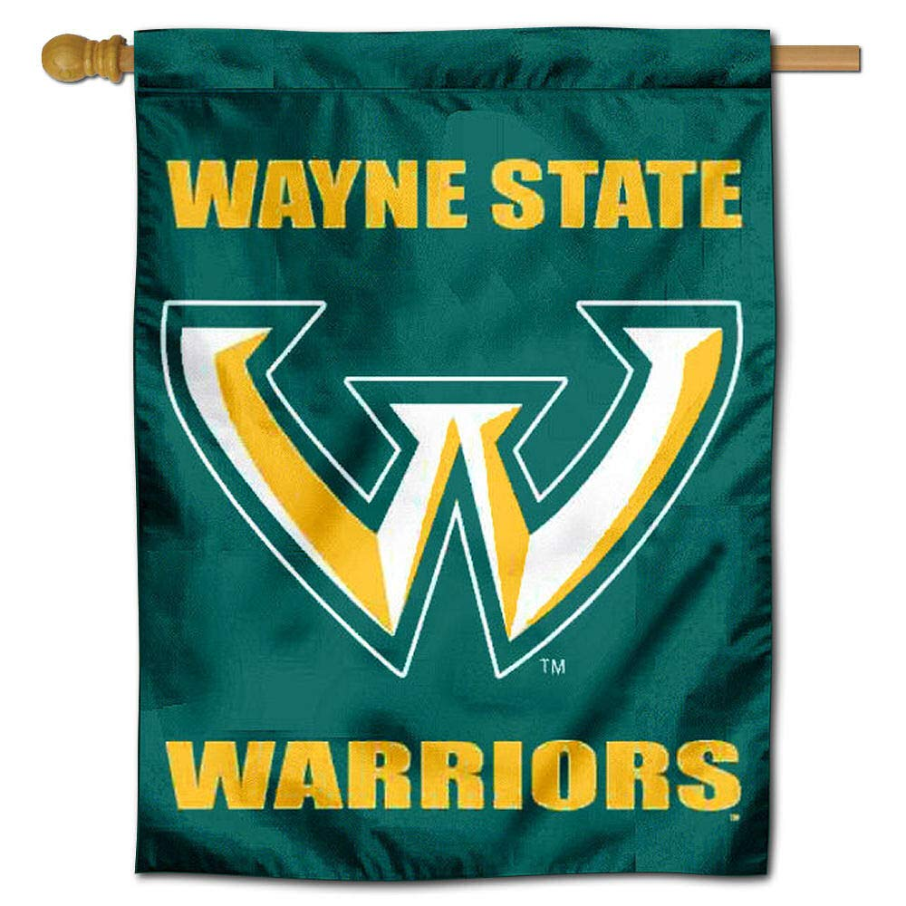 WSU Warriors Double Sided House Flag College Flags and Banners Co