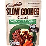 Campbell's Slow Cooker Sauces, Tavern Style Pot Roast, 13 Ounce (Pack of 6)
