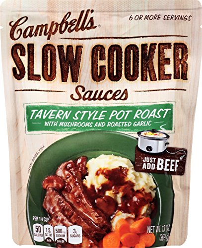 Campbell's Slow Cooker Sauces, Tavern Style Pot Roast, 13 Ounce Roast Potatoes