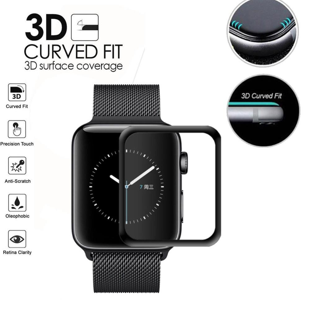 For Apple Watch Series 1/2/3 38mm 42mm Screen Protector Sinfu Replacement Full Screen Accessory (42mm) by Sinfu® (Image #1)