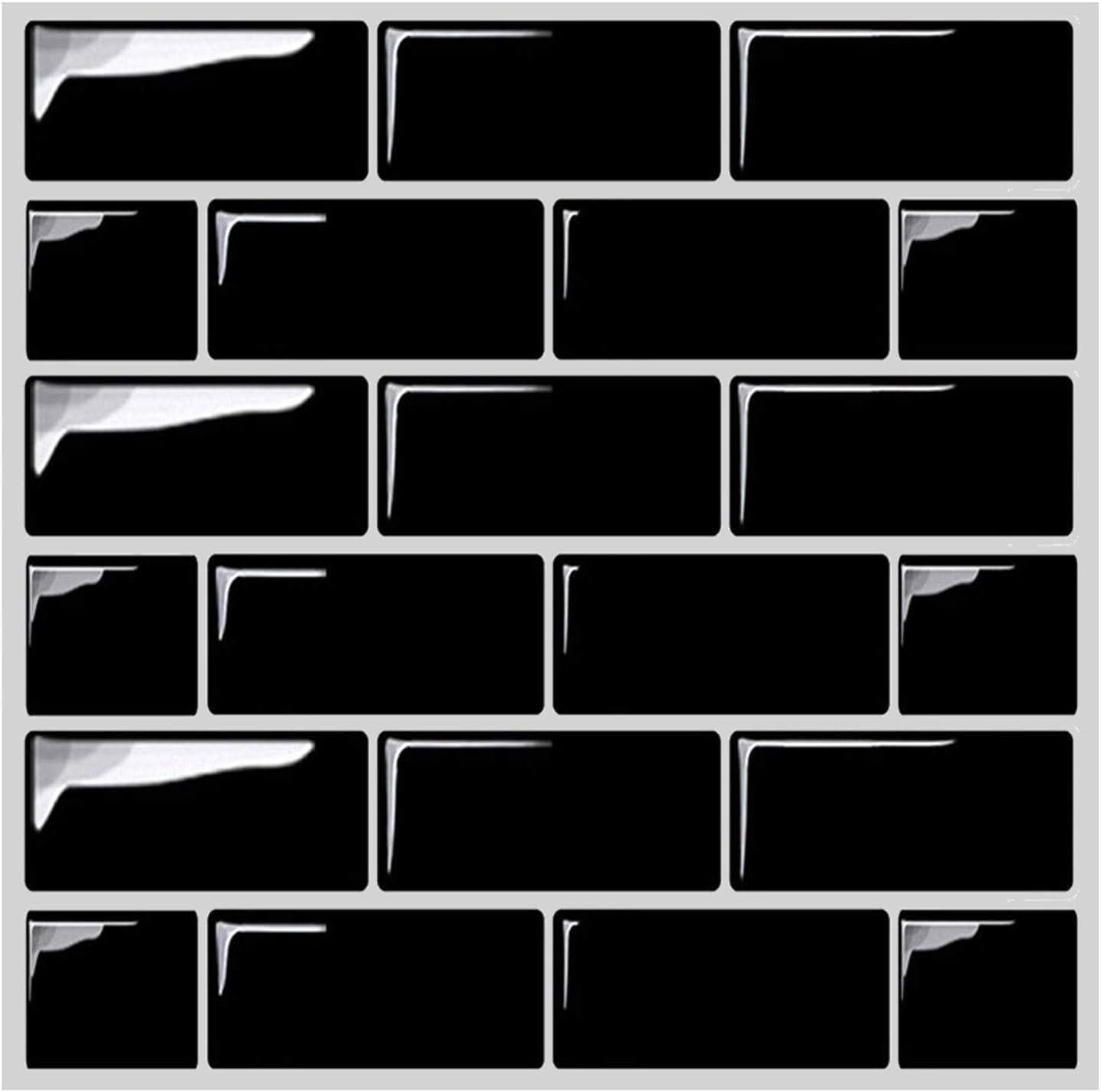 Amazon Com Besttile Premium Self Adhesive Vinyl Wall Tiles Peel