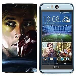 TECHCASE---Cubierta de la caja de protección para la piel dura ** HTC Desire Eye ( M910x ) ** --UNIDAD ANSARÓN