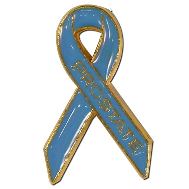 Amazon Prostate Cancer Awareness Ribbon Lapel Pin Brooches And
