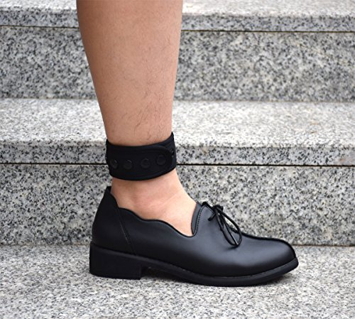 DDJOY Ankle Strap for Compatible with Fitbit & Garmin, Ankle