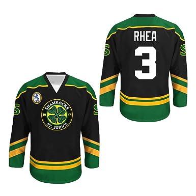 96eb24e1b Ross The BOSS Rhea ST John's Shamrocks Hockey Jersey with EMHL Patch Stitch  (30,