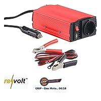 reVolt Spannungswandler 12V: Kfz-Spannungswandler 300 W, 230 V AC, 5 V USB, Peakpower 600 W (Spannungswandler 12V in 230v)