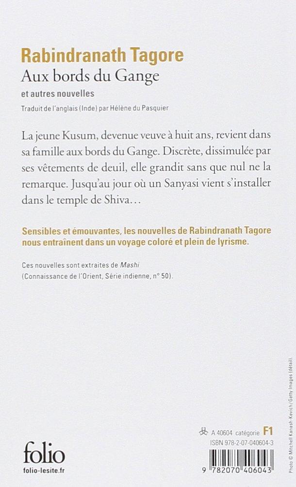 Amazon.Fr - Aux Bords Du Gange - Rabindranath Tagore - Livres