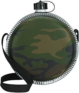 product image for Rothco Woodland Camo 2 QT Desert Canteen