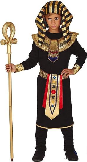 FIESTAS GUIRCA Disfraz de faraón Egipcio Rey Egipcio niño: Amazon ...