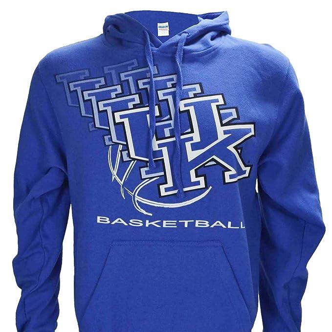 University of Kentucky UK 3D on Blue Hoodie