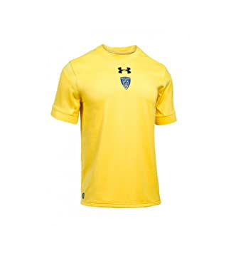 Under Armour 2017-2018 Clermont Home Pro Rugby Football Soccer T-Shirt