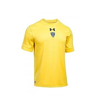 b7b3cb2955b Under Armour Clermont Auvergne 2017/18 - Maillot de Rugby Réplique Domicile  - Jaune Vif: Amazon.fr: Vêtements et accessoires