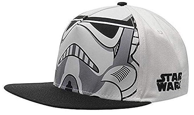 Star Wars - Stormtrooper Casco - Oficial Gorra De Béisbol - Blanco ...