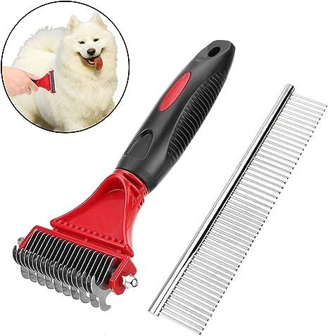 PTPTRATE - Cepillo para perros y gatos, cepillo para pelos ...