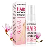 Hair Inhibitor, Hair Stop Growth Spray, Hair Removal Spray, Painless Hair Removal Inhibitor, for Face, Arm, Leg, Armpit, Permanent Hair Removal