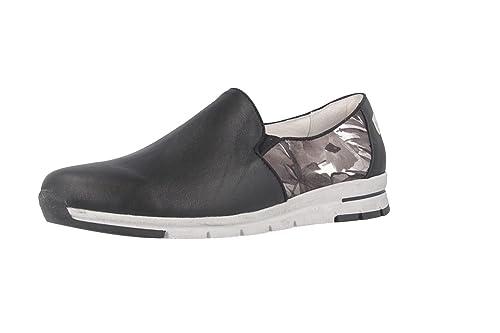 romika - Tabea 17 - Mujer Slipper - Negro Guantes en tallas especiales, color Negro, talla 38 EU: Amazon.es: Zapatos y complementos