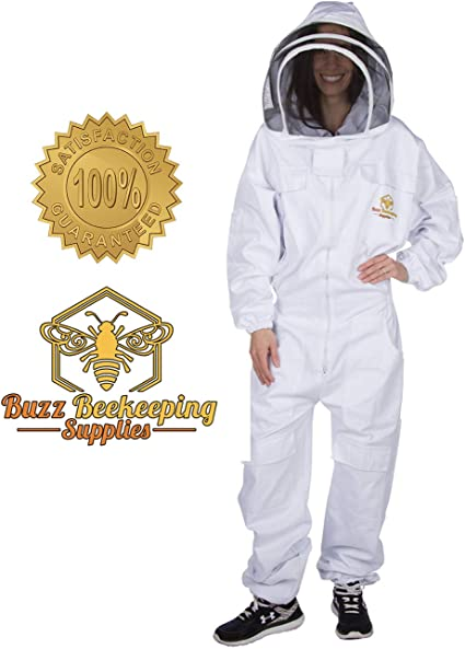 Beekeeping Suit and Bee Family Stickers