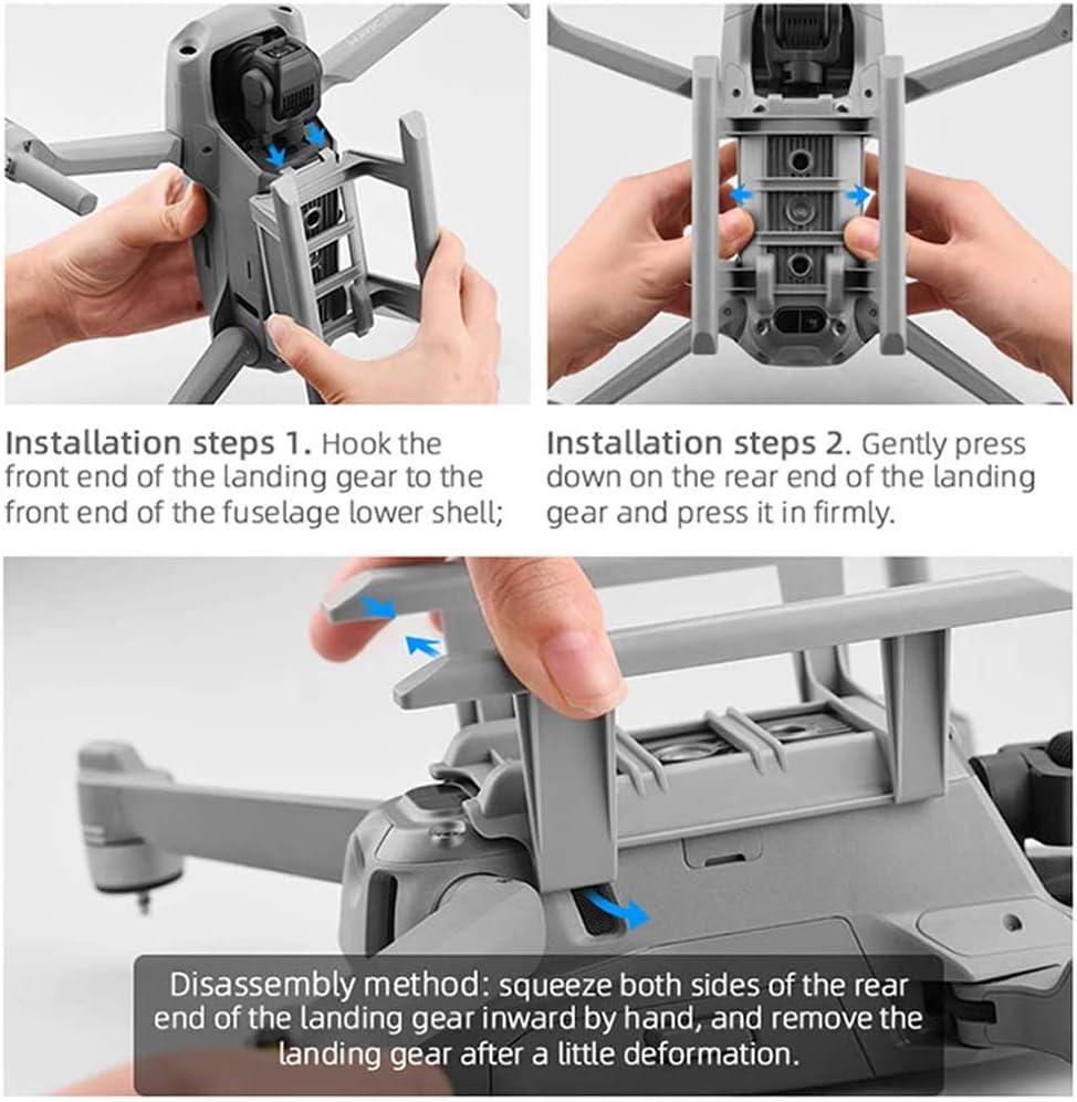 Mavic Air 2 Accessories Lens Hood Protective Cap for DJI Mavic Air 2 Drone Propeller Holder Guard Landing Gear