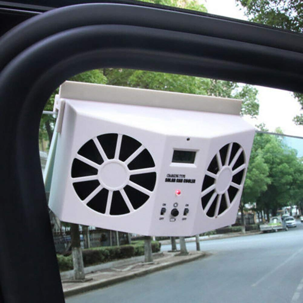BAODANH Mini Ventilateur Solaire pour fen/être de Voiture