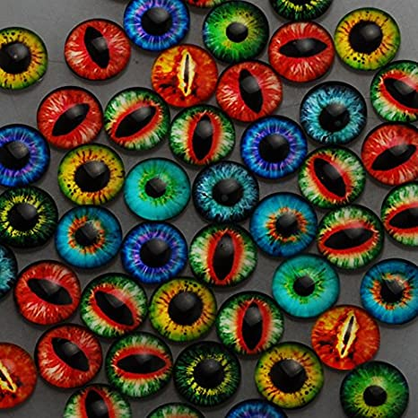 12mm Round One Style Mix Pattern Photo Glass Cabochon thickness 4.5mm,50 pieces/lot (1001055) Rosebeading