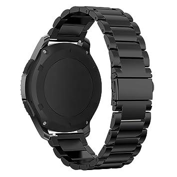 Samsung Gear S3 Classic/Frontera Banda omter gdfb Reloj Inteligente magnético de Metal Correa de reemplazo Banda para Samsung Gear S3 Frontera/Classic