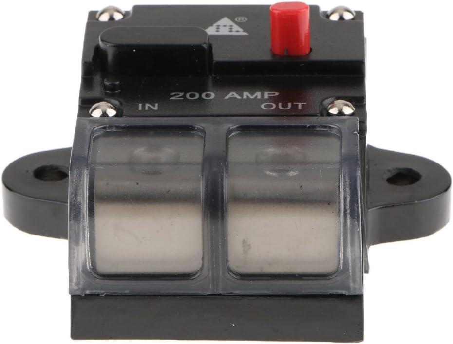 Solaire Disjoncteur en Ligne Fusible Reset Disconnectors 12V 24V Pousser Bouton/'